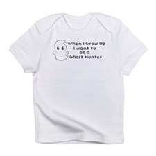 I wanna be a Ghost Hunter boy Infant T-Shirt
