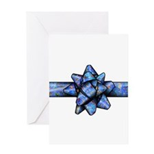 Ocean Life Bow Greeting Card