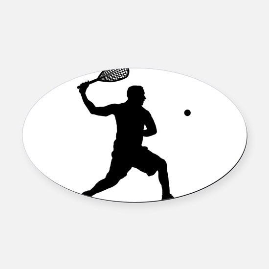 Cute Matches Oval Car Magnet