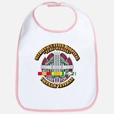 Army - 95th Evac Hospital w SVC Ribbon Bib