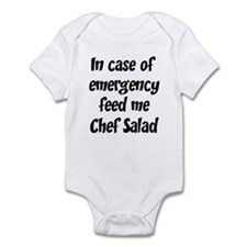 Feed me Chef Salad Infant Bodysuit