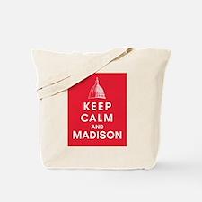 Keep Calm and Madison Tote Bag