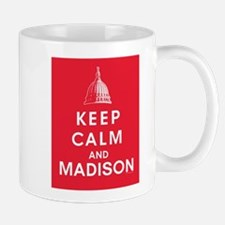 Keep Calm and Madison Mugs