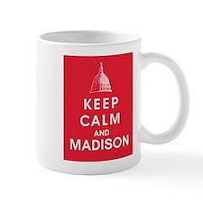 Keep Calm and Madison Mugs