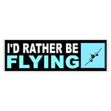 FLYING Bumper Bumper Sticker