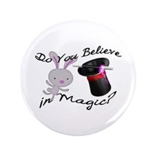 "Do You Believe In Magic Top Hat & Rabbit 3.5"" Butt"