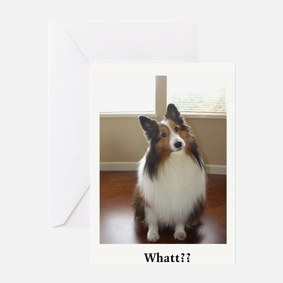 Whatt?? Greeting Card