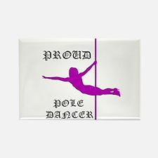 Proud Pole Dancer Magnets