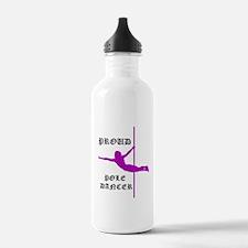 Proud Pole Dancer Water Bottle