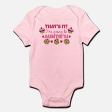 That's it! I'm going to Auntie's! Infant Bodysuit