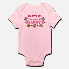 That's it! I'm going to Grammy's! Infant Bodysuit