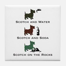 Scotch On_T.png Tile Coaster