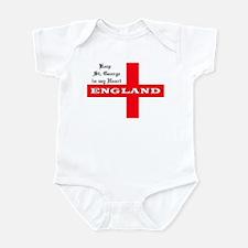 St. George's Flag Infant Bodysuit