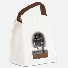 Xmas Pony Delivery Canvas Lunch Bag