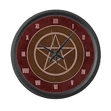 Pentacle Large Wall Clock