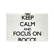 Keep calm and focus on Bocce Magnets
