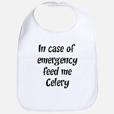 Feed me Celery Bib