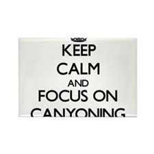 Keep calm and focus on Canyoning Magnets