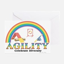 Agility-Celebrate Diversity Greeting Cards (6)
