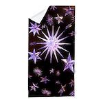 Sparkling Stars Beach Towel