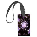 Sparkling Stars Large Luggage Tag