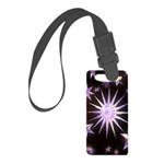 Sparkling Stars Small Luggage Tag