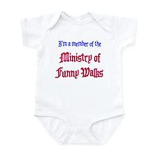 Ministry of Funny Walks Infant Bodysuit