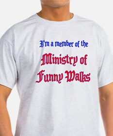 Ministry of Funny Walks T-Shirt