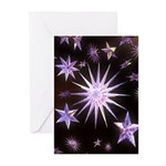 Sparkling Stars Greeting Cards (Pk of 10)