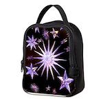 Sparkling Stars Neoprene Lunch Bag
