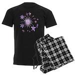Sparkling Stars Men's Dark Pajamas
