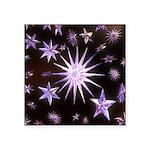 Sparkling Stars Square Sticker 3
