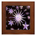 Sparkling Stars Framed Tile