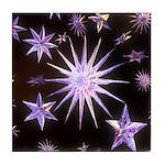 Sparkling Stars Tile Coaster