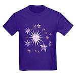 Sparkling Stars Kids Dark T-Shirt
