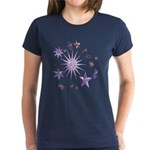 Sparkling Stars Women's Dark T-Shirt