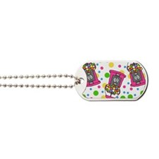Pink Gumball Machines Dog Tags