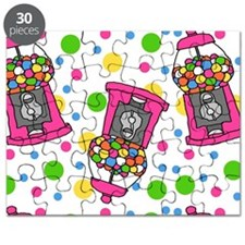 Pink Gumball Machines Puzzle