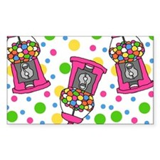 Pink Gumball Machines Decal