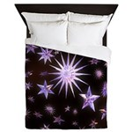Sparkling Stars Queen Duvet