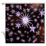 Sparkling Stars Shower Curtain