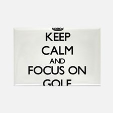 Keep calm and focus on Golf Magnets