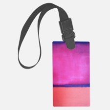 PINK BLUE PEACH ROTHKO Luggage Tag