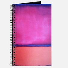 PINK BLUE PEACH ROTHKO Journal