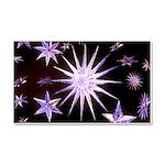 Sparkling Stars Car Magnet 20 x 12