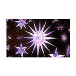 Sparkling Stars 35x21 Wall Decal