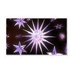 Sparkling Stars 20x12 Wall Decal