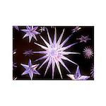 Sparkling Stars Rectangle Magnet