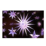 Sparkling Stars Postcards (Package of 8)