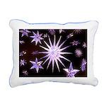 Sparkling Stars Rectangular Canvas Pillow